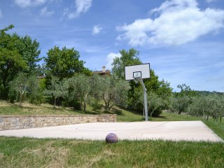 Villa Zoe, pool & basketball court - Strada in Chianti vacation rentals