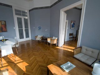 Elegant apt with 2 balconies in the center - Budapest vacation rentals