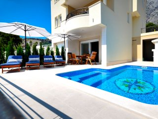 Seaview villa with pool for 8 persons - Makarska vacation rentals