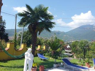 3 appartements à louer dans une villa, avec vue sur le Monte Cassino - Sant'Elia Fiumerapido vacation rentals