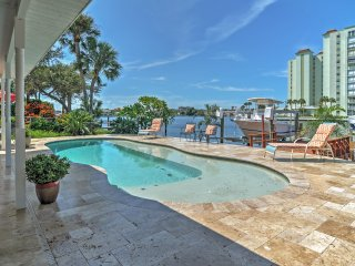Alluring 4BR St. Pete Beach House w/Wifi & Private Swimming Dock - Incredible Waterfront Location Near Popular Local Attractions! Brand New Private Pool! - Saint Pete Beach vacation rentals