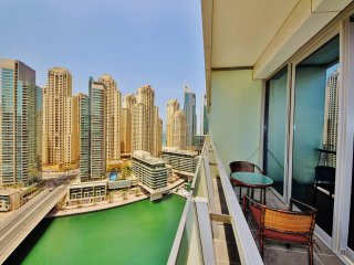 Waterfront studio with style in Silverene Tower - Jumeirah Lake Towers vacation rentals