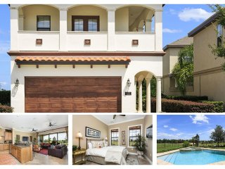 Amazing 5 bedroom Reunion Vacation Home with private pool, spa and golf views - Reunion vacation rentals