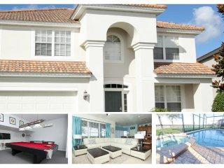 Modern 6 Bed Villa - Games Room, 2 Miles to Disney - Reunion vacation rentals
