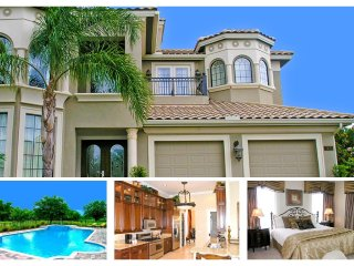 6 Bedroom Reunion Resort home with games room, private pool and spa - Reunion vacation rentals