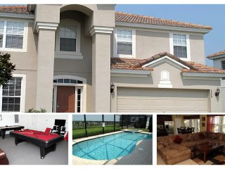 Luxury 6 Bed Home with Pool - 2 Miles From Disney! - Reunion vacation rentals