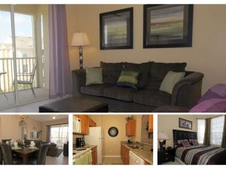 Contemporary, luxuriously furnished 3 bedroom 2 bathroom, 4th floor condo- nearby to Disney - Four Corners vacation rentals
