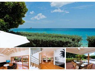 Stunning 4 Bed Beachfront Villa - Tropical Gardens - Trents vacation rentals