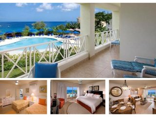 Stunning 2 Bed Apartment with Pool and Ocean Views - Lascelles Hill vacation rentals