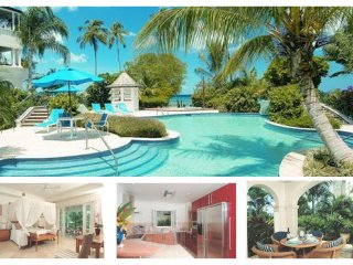 A luxurious 1 bed penthouse apartment with en-suite bathroom, all set within a well equipped resort on the beach - Mullins Beach vacation rentals