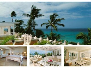 Luxury 3 Bed Beachfront Villa - Private Spa - Lascelles Hill vacation rentals