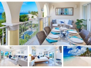 Amazing 3 Bed Beachfront Apartment with Pool - Dover vacation rentals