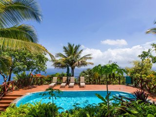 BANANA: ECO-LUX SEA VIEW COTTAGE - Marigot Bay vacation rentals