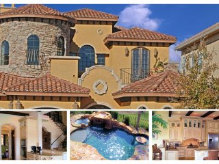 Stunning 6 Bedroom, 6.5 bathroom Reunion Resort home with amazing pool and golf views - Reunion vacation rentals