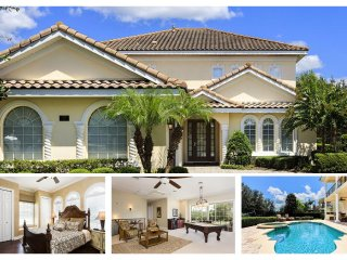 Elegant 5 Bedroom Home with Great Games Room and Pool - just a short walk from all the resort facilities - Reunion vacation rentals