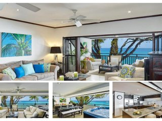 Stunning 3 Bed Apartment with Jacuzzi Pool - Paynes Bay vacation rentals