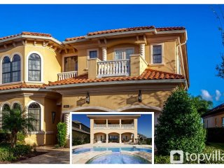 5 Bedroom with private pool area - Pool Table - Air Hockey - Stunning Golf Views - Reunion vacation rentals