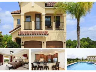 Beautiful brand new 5 bedroom Reunion Resort home with private swimming pool, spa and games room - Reunion vacation rentals
