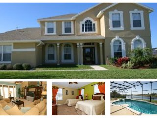 Executive, Lakefront 7 Bedroom Villa with 6 Bathrooms, Private Pool and Games Room - Four Corners vacation rentals