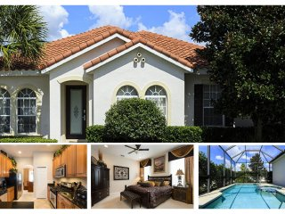 Perfect 3 bed home with screened pool and spa - just 5.5 miles from Disney - Reunion vacation rentals