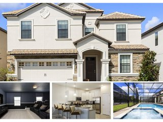 Located near Disney, fabulous 8 bedroom home ideal for family holiday with large private pool, cinema and games room - Winter Park vacation rentals