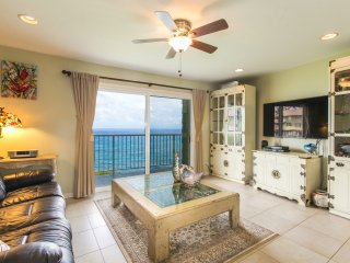 2br Sunrise Lanai, Breaking Surf | Oceanfront! - Princeville vacation rentals