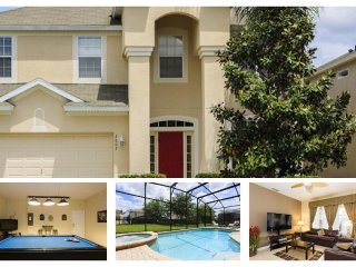 Luxury 6 Bed Home with Pool - 3 Miles to Disney - Reunion vacation rentals