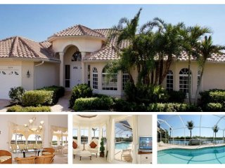 Sophisticated luxury Cape Coral villa- Private boat dock- Private pool- Pet friendly- 5 bedrooms - Saint James City vacation rentals