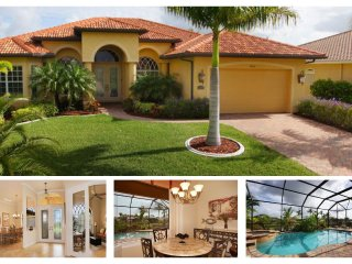 Perfectly peaceful 3 bedroom luxury villa- Stunning swimming pool- Outside BBQ- Pet friendly - Matlacha vacation rentals