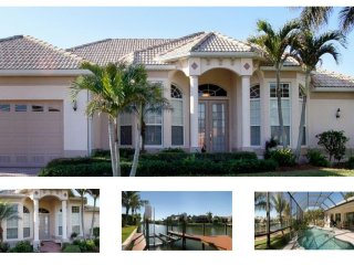 On the canal- Pool with southern exposure- 3 bedroom gorgeous luxury villa- Boat dock and lift - Matlacha vacation rentals