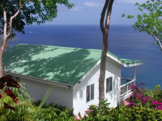 AVOCADO COTTAGE: Ocean Views, Paradise Pool, Private Cottage - Marigot Bay vacation rentals