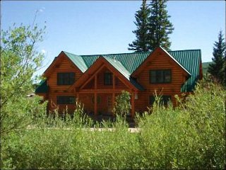 Riverside Log Cabin Home - Located on Three Acres of Land (1193) - Crested Butte vacation rentals