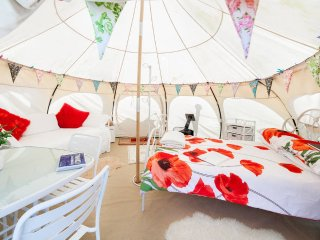 Poppy Family Tent, large and spacious, sleeps 4 - Edmonton vacation rentals