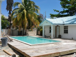 Azul Maya Villa Medio... pool and steps from beach - San Pedro vacation rentals