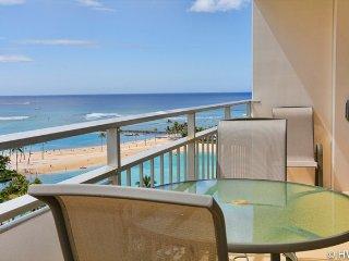 Ilikai 1236 Ocean / Lagoon / Fireworks Views King Bed, Sofa Bed - Honolulu vacation rentals