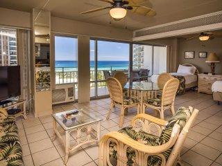 Luxury Remodel Ilikai Suites 1418 2 Bed Room Ocean / Lagoon / Fireworks Views - Honolulu vacation rentals