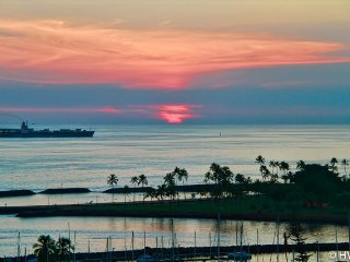 Ilikai Suites1504 Ocean / Sunset / Marina Views 2 Double Beds, Sofa Bed - Honolulu vacation rentals