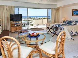 Ilikai 614 Ocean / Lagoon / Fireworks Views Queen Bed, Sofa Bed - Honolulu vacation rentals
