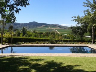 Stunning home, pool and views in Cape winelands - Stellenbosch vacation rentals