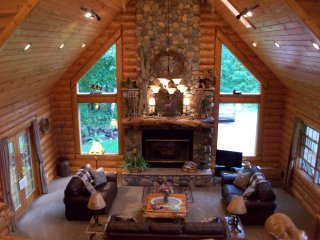 Rustic Lodge ( not on a lake)(Rates based on 6 guest) - Shell Lake vacation rentals