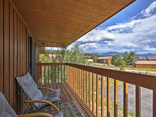 NEW! 2BR Grand Lake Condo w/Community Hot Tub! - Grand Lake vacation rentals