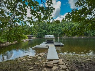 Private & Elegant Lakefront home with private dock! - Oakland vacation rentals