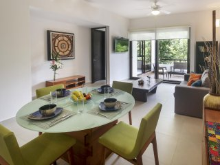 Brand new condo in Premier TAO Holistic Wellness Centre and Golf Course - Chacalal vacation rentals