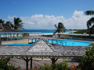 Sunset view, Orient beach condo with pool - Orient Bay vacation rentals