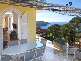 Provenzialische Villa mit spektakulärem Meerblick - Villefranche-sur-Mer vacation rentals