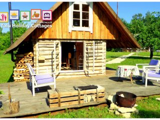 Romantic Cabin with bath and fireplace, Torni Talu - Orissaare vacation rentals