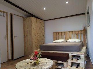 Charmant studio avec terrasse et jardin à louer - Kourou vacation rentals
