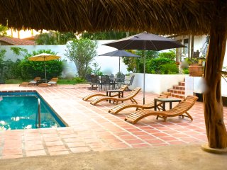 Private Beachfront Bungalow w/Huge Pool for Two! - Langosta vacation rentals