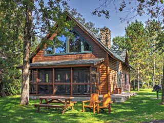 NEW! Lakefront 3BR Nisswa Cabin w/ Fireplace! - Nisswa vacation rentals