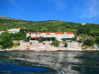 2 bedroom beach apt. private terrace,amazing views - Dubrovnik vacation rentals